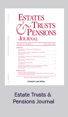 Estates Trusts and Pensions Journal