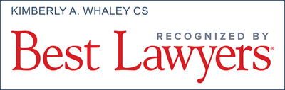 Best Lawyers - Kimberly A. Whaley