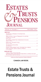 Estate Trusts & Pensions Journal