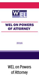 WEL on Powers of Attorney